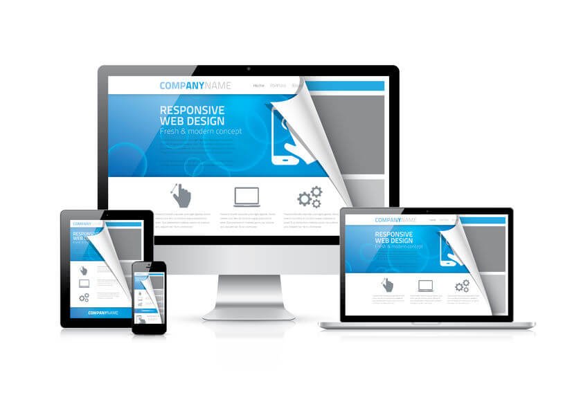 Computers Showing Responsive Web Design